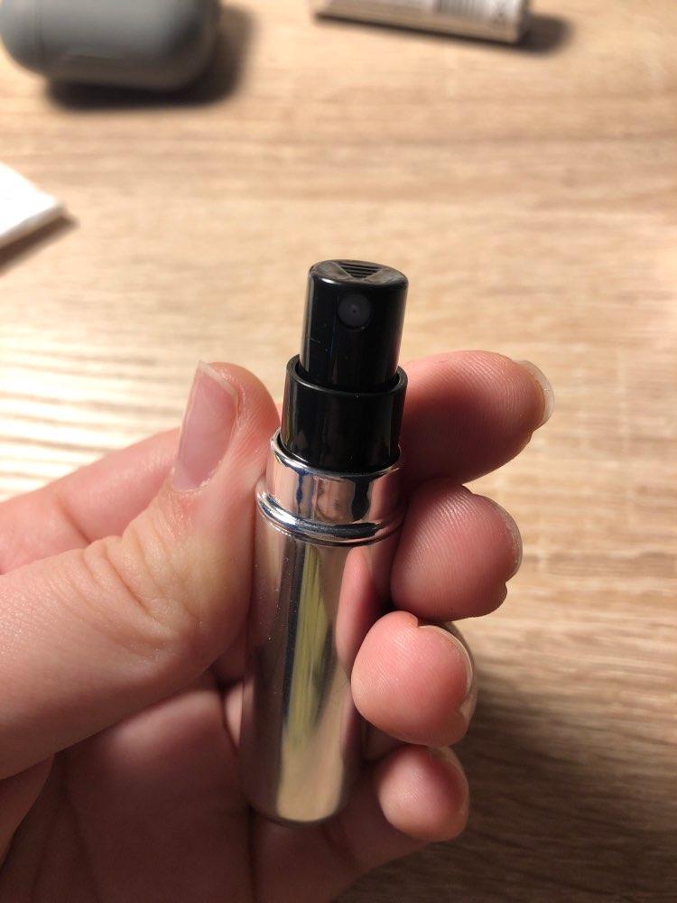 Portable Perfume Travel Refill Bottle Atomizer - Lipstick Size - Buy 1 Take 1 photo review