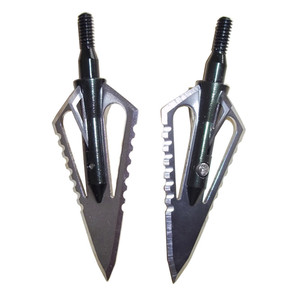 Image 5 - 3pcs Hunting Arrowhead 100Gr Steel Broadhead Arrow Point Target Shooting Tips Crossbow Compound Recurve Bow Head With 1 Box