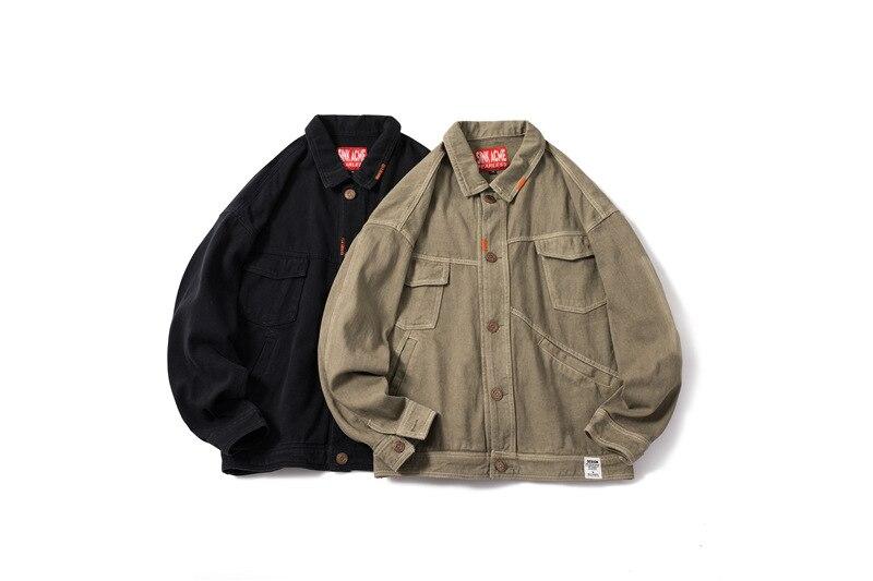 Homme Jeans Tyga Hommes Streetwear De D'hiver Vestes Hip Chris Jean Chaud Mode Brown Denim Veste Hop marron Noir Justin Bieber STS6xZB