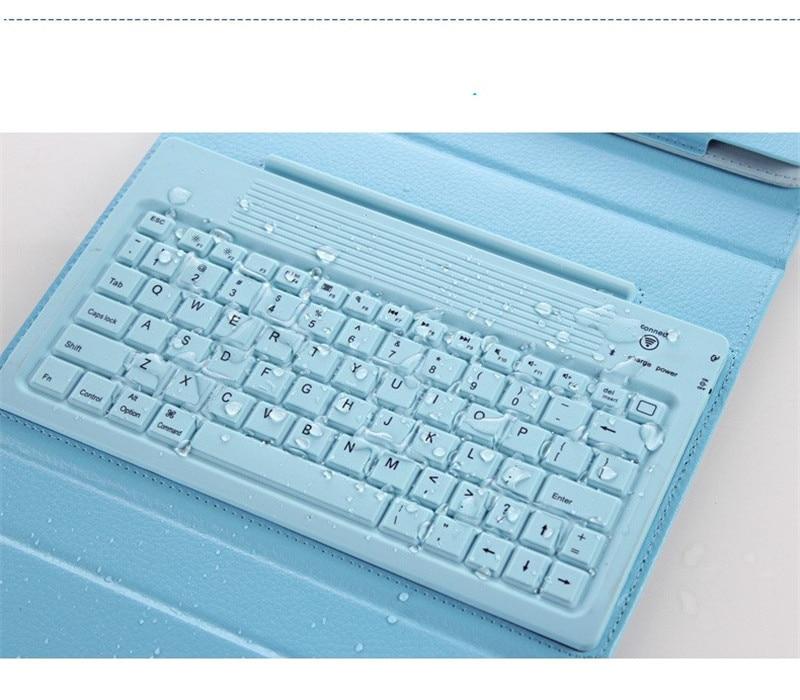 Wireless Bluetooth Keyboard PU Leather Cover For IPad 2 3 4 IPad 2 3 4 Waterproof