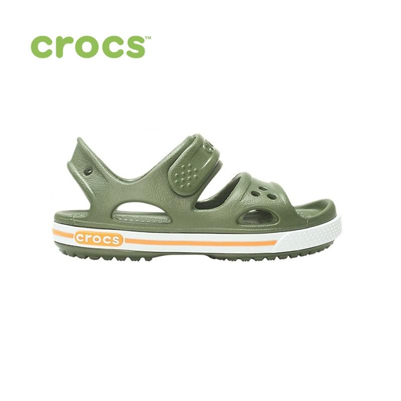 цены на CROCS Crocband II Sandal PS KIDS or boys/for girls, children, kids TmallFS shoes  в интернет-магазинах
