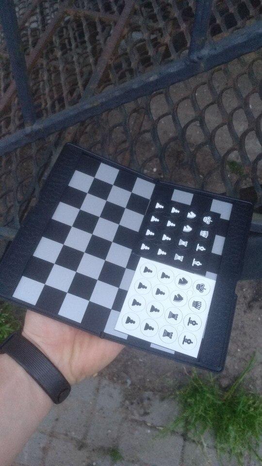 Jogos de xadrez magnético portátil checkers