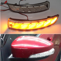 For Ford Kuga Escape C520 EcoSport 2013 2018 Dynamic Turn Signal Light LED Side Wing Rearview Mirror Sequential Indicator Lamp