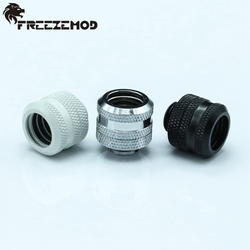 4pcs OD14mm Hard tube fitting - FREEZEMOD water cooling fittings G1/4'' thread for OD14mm hard tube . YGKN-N14MM
