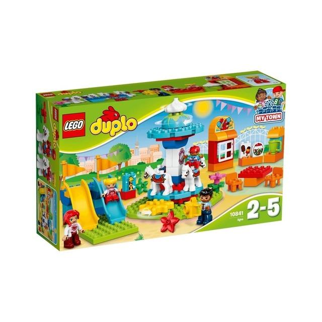 Конструктор LEGO DUPLO Семейный парк аттракционов 10841-L