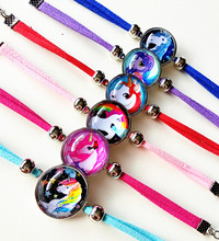 Leather Charm Bracelet For Girls