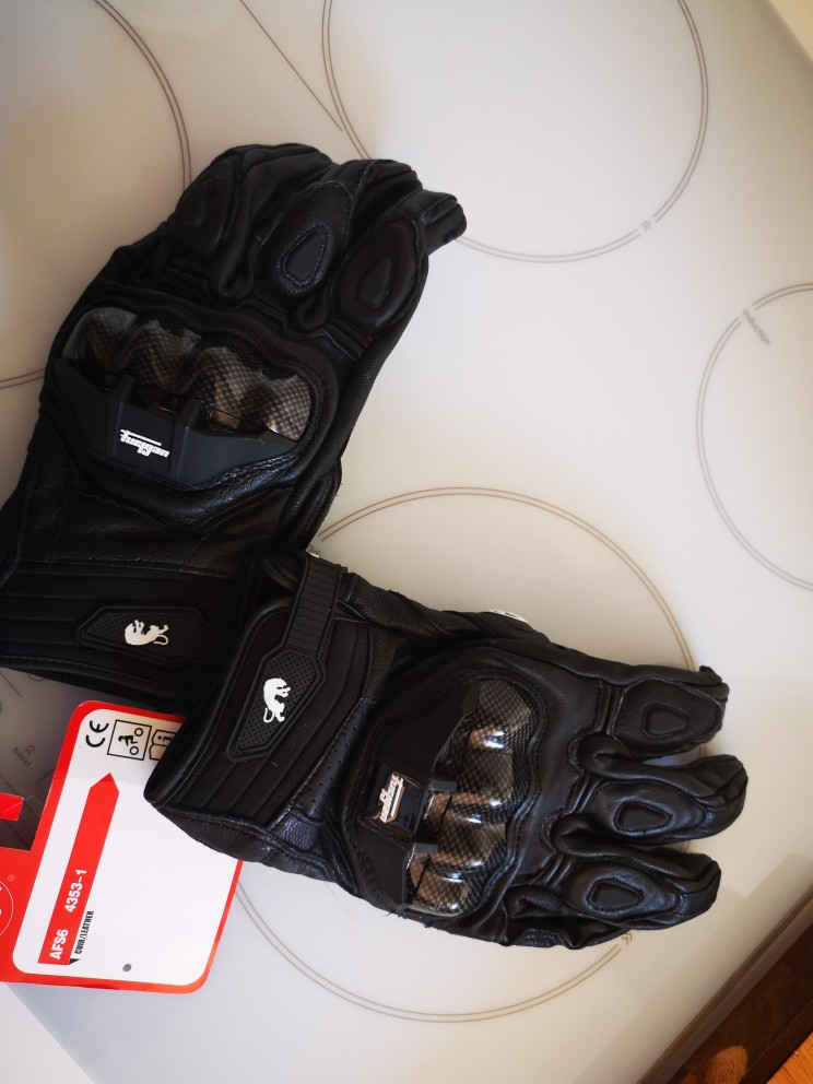 Leather Motocross Racing Glove Motorcycle Gloves ride bike driving bicycle cycling Motorbike Sports moto racing gloves