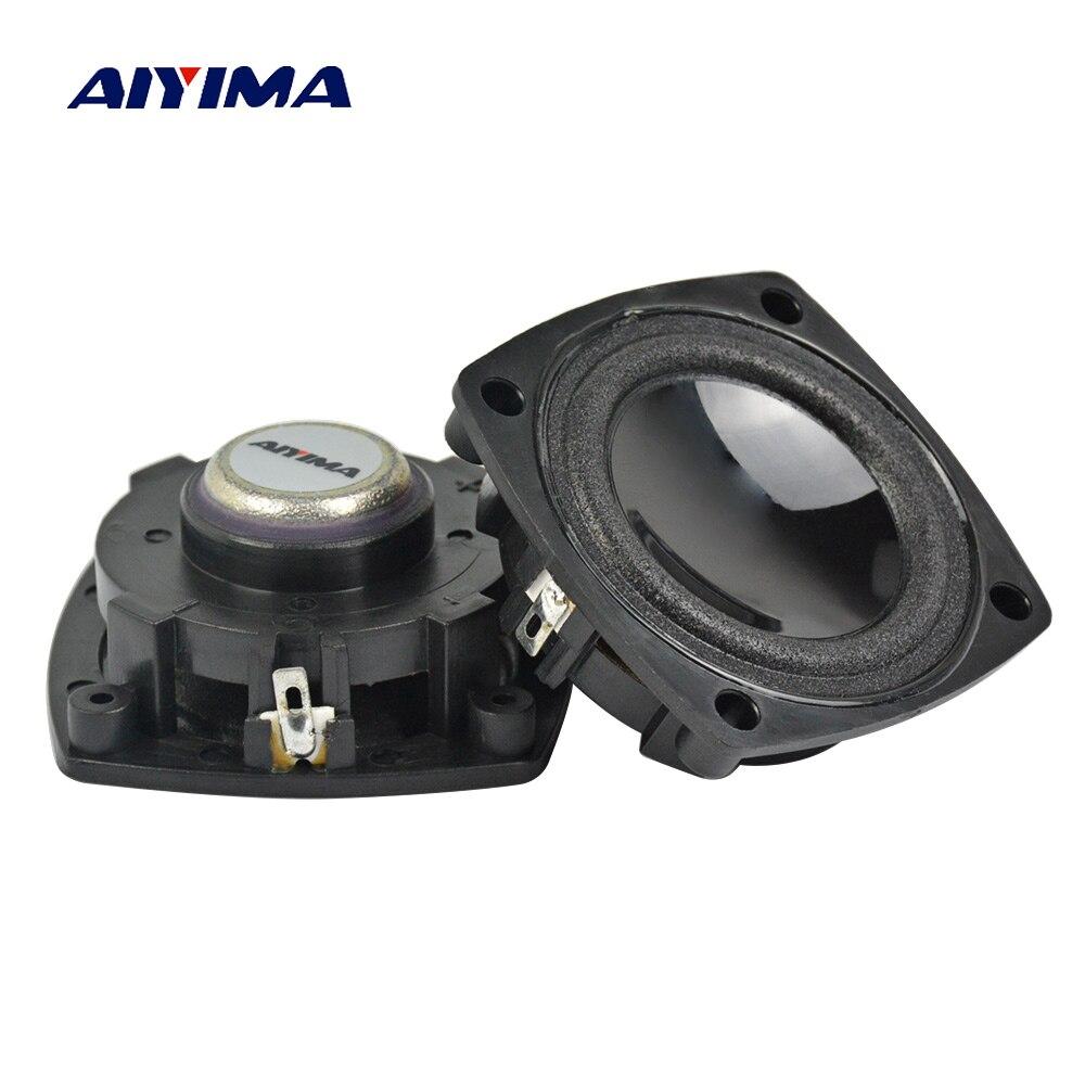 Bescheiden Aiyima 2 Stücke Neodym Vollen Frequenz Lautsprecher 1,5 Zoll 4ohm 5 Watt Lautsprecher Lautsprecher Für Auto Stereo Heimkino Audio Lautsprecher