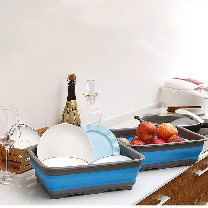 Milieuvriendelijke opslag Vouwmand PP + TPR Opvouwbaar kunststof - Home opslag en organisatie - Foto 1