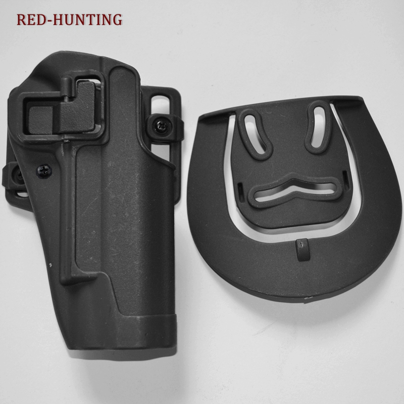 Durable Military Colt 1911 Pistol Belt Holster Tactical Gun Holsters For Colt 1911 Waist Holster Airsoft Pistol Shooting image