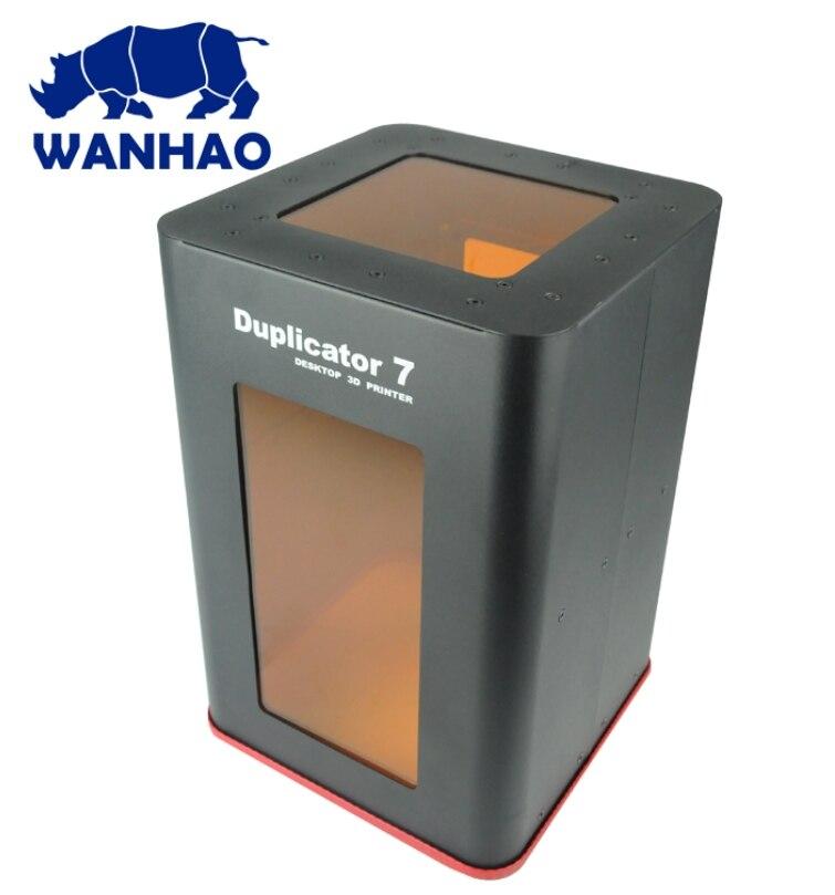 2019 NOUVEAU! Wanhao duplicateur 7 PLUS imprimante 3D (V1.5) imprimante 3D à écran tactile DLP SLA résine UV avec nouveau couvercle - 4
