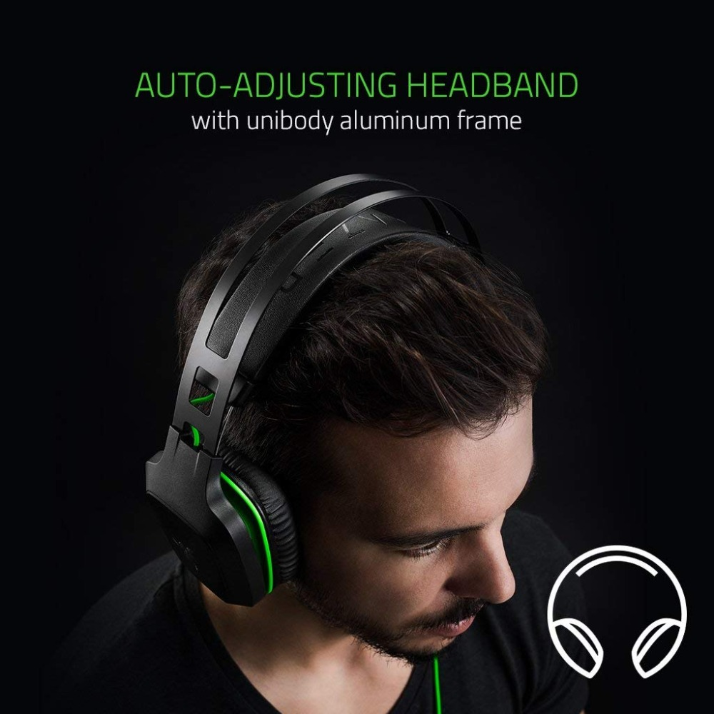 Image 2 - Original Razer Electra V2 3.5mm Gaming Headset 7.1 Surround Sound with Detachable Mic for PC/Xbox One/PS4/Laptop Headphone Gamer-in Headphone/Headset from Consumer Electronics