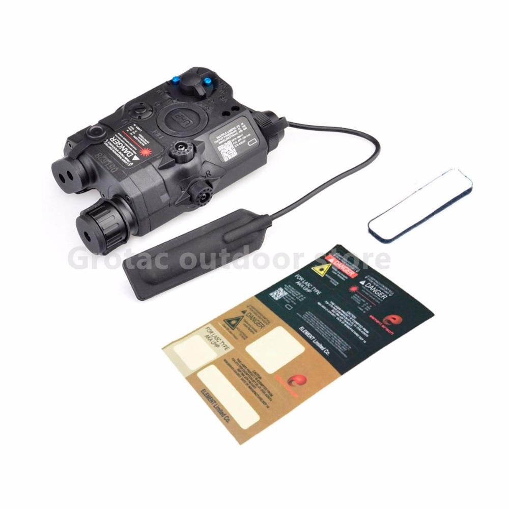 ÉLÉMENT PEQ 15/LA-5C UHP APPARENCE Rouge & IR Laser et lampe de poche Pour Huntin