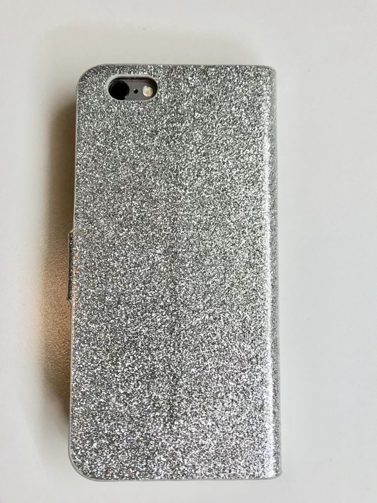 KISSCASE Luxury Bling Flip Case For iPhone 6 6s 7 Plus Glitter Girl Leather Bags Wallet Stand Glitter Case For iPhone 6s Cover