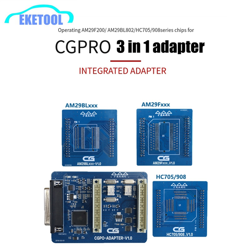 3 IN 1 Adapter CGDI Adapter V1 0 With HC705 908 AM29FXXX AM29Blxxx for CG PRO