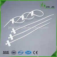 ZHEJIN (1000 stücke) 3*100 MM 4-zoll Länge, Marker Nylon Kabelbinder mit 18-Pound Zugfestigkeit (breite: 2,5mm)