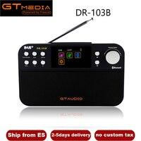 Portable Radio GTMedia DR 103B Digital FM Radio DAB+Radio For UK EU With Bluetooth Built in Loudspeaker Support TF Card For Mp3
