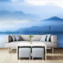 Ink cloud landscape art painting TV background wall professional production mural wholesale wallpaper mural poster photo wall(China)