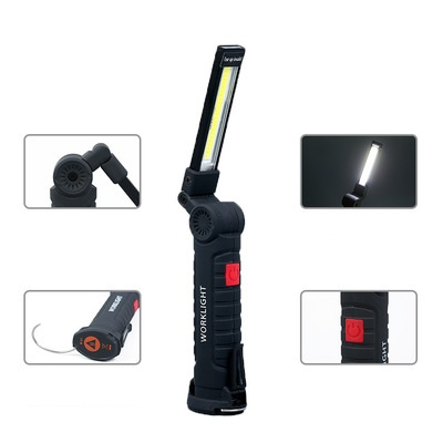 LED Work Light COB Rechargeable Work Lights Bright Flashlight Inspection Lamp for Car Repair Household and Emergency Use 1 pcs in Interior Mouldings from Automobiles Motorcycles