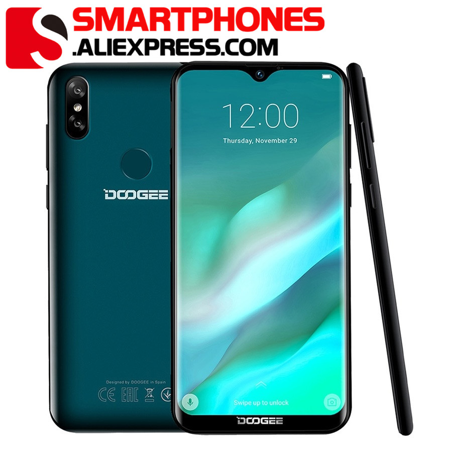 DOOGEE Y8 3GB 32GB Mobile Phone Android 9 0 6 1 FHD Waterdrop Screen 19 9