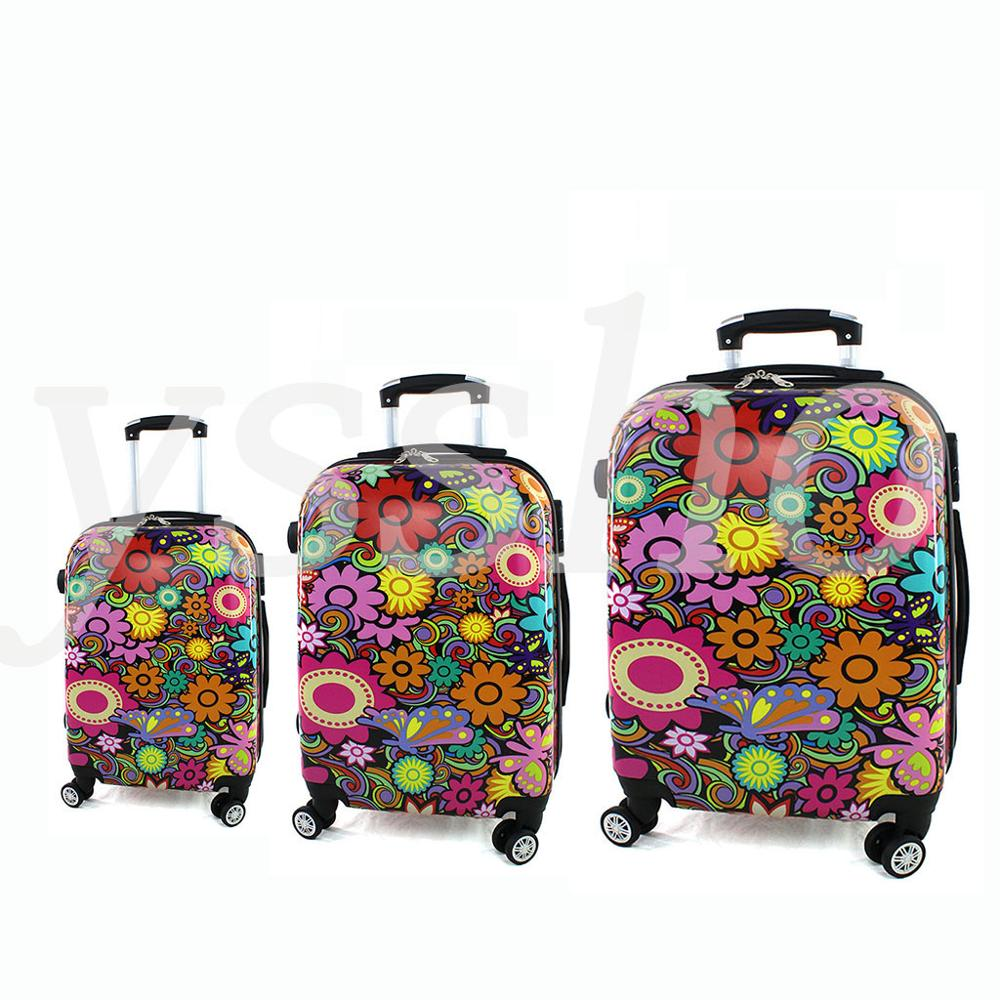 Juego De 3 Suitcase Are Rigid Stamped, Composite One Cabin Suitcase And Two For Invoiced