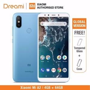 Image 3 - グローバルバージョン xiaomi mi A2 64 ギガバイト rom 4 ギガバイトの ram (真新しいと密封された) mia2 64 ギガバイトスマートフォン携帯