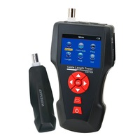 RJ45 RJ11 BNC Coax Telephone Digital Cable Length Tester with FREE TF Card Network Cable Tester Error Detector PING POE Function