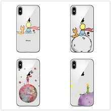 Cartoon The Little Prince earth space soft TPU Phone Case Cover For iPhone X 10 5 11 11PRO MAX SE 6 6S Plus 7 8Plus