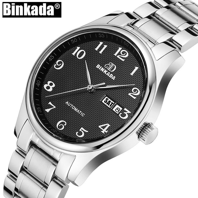 Fashion Casual Automatic Business Watch Luxury Brand Mens Mechanical Watch Men's Wristwatch Sport Relogio Masculino Reloj Hombre