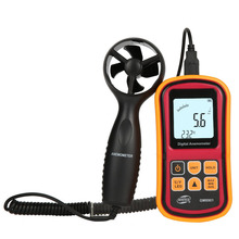 GM8901 anemometer, GM8902 anemometer, digital wind speed air temperature tester, Anemometer