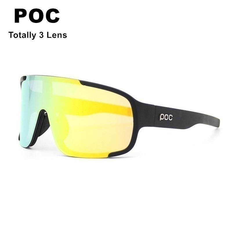 Men Women POC Sport Hiking Bike Eyewear Bicycle Sun Glasses Oculos Polarized Ciclismo Motorcycle Fishing Sunglasses For Cycling