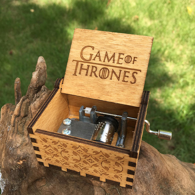 Us 1 8 10 Off Two Colors Star Wars Music Box Game Of Thrones Music Box Music Theme Caixa De Musica A Birthday Present In Music Boxes From Home