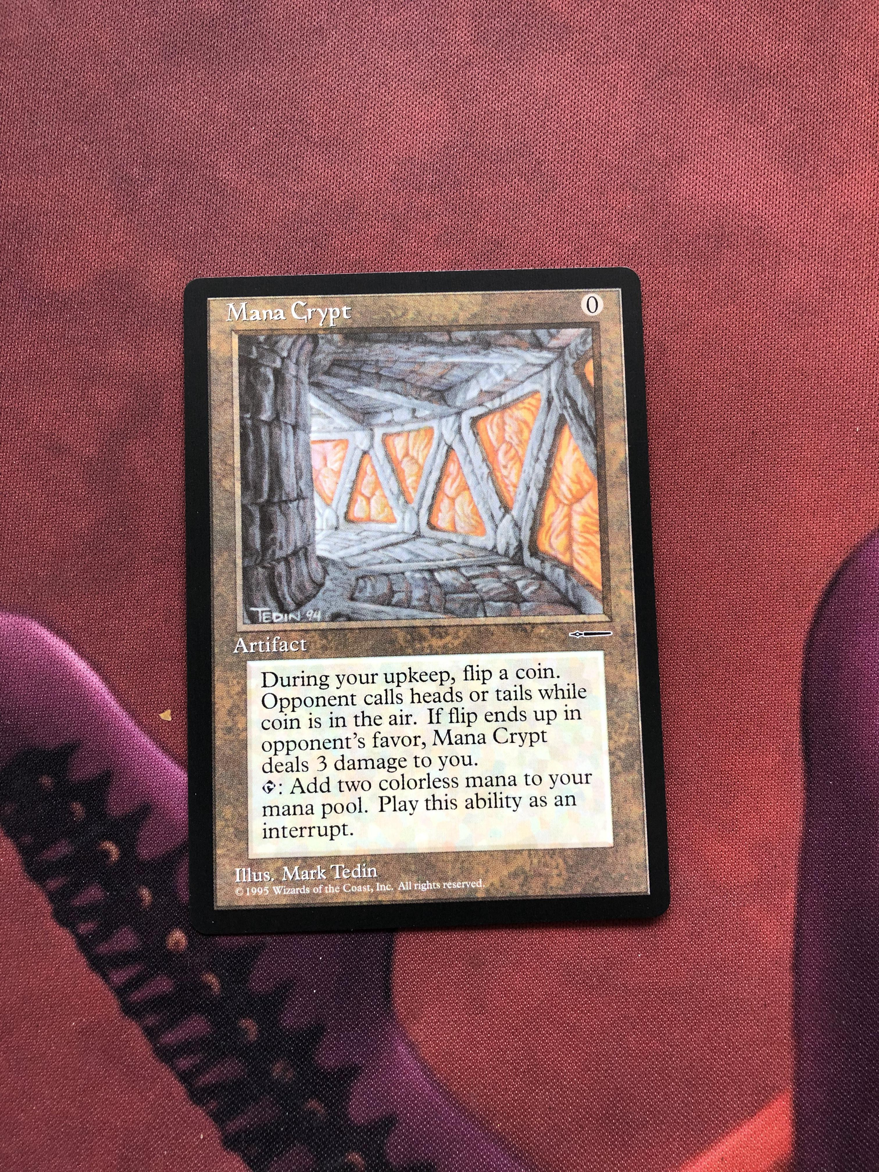 Mana Crypt HarperPrism Book Promos Magician ProxyKing 8.0 VIP The Proxy Cards To Gathering Every Single Mg Card.