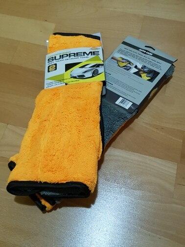 1pc 800gsm 45x38cm Microfiber Car Cleaning Cloth Super Thick Plush  Microfibre Detailing Wax Polishing Towel Car Care