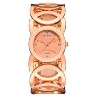O T Sea Fashion Women Watch Brand Luxury Stainless Steel Dress Ladies Quartz Watch Relogio Feminino