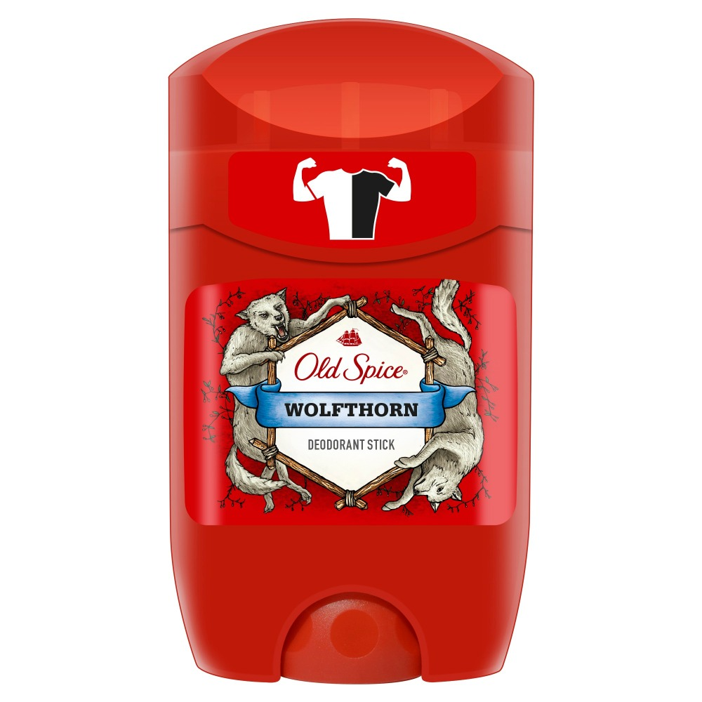 Old Spice roll-on deodorant  Wolfthorn 50ml adidas 50ml