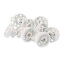 8 штук посудомоечной машины Верхнее колесо для посуды подходит для Bosch Siemens Balay набор верхней корзины
