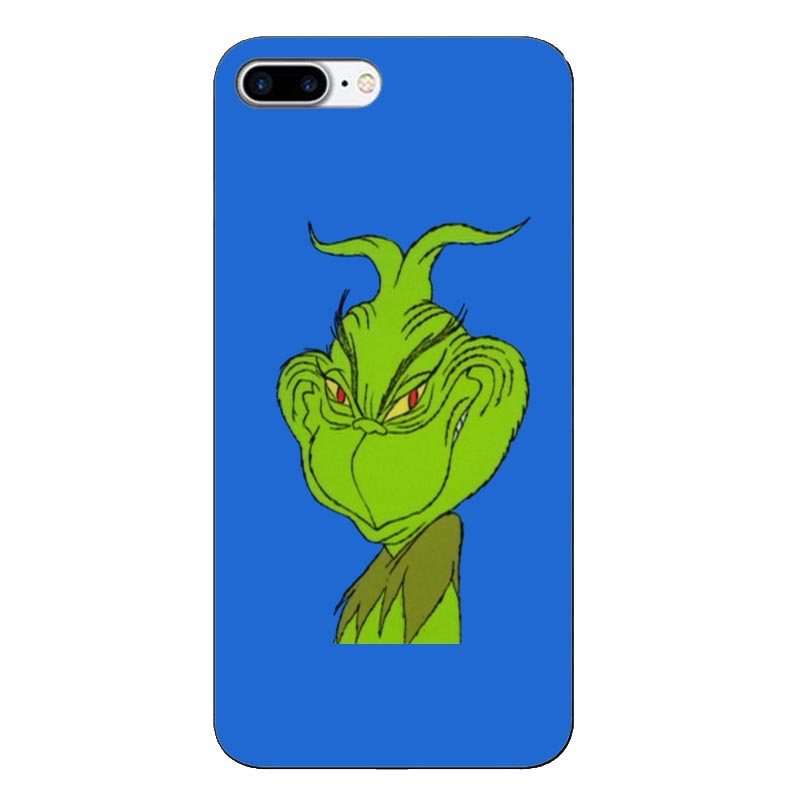 How the Green of Monster Grinch Stole Christmas Soft Phone Cover for iPhone X XS MAX 6 6S 7 7plus 8 8Plus 5 5S XR 10 Case in Phone Pouches from Cellphones Telecommunications
