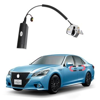 Для Toyota CROWN, электрическая всасывающая дверь, автомобильные переоборудованные автоматические замки, автомобильные аксессуары, интеллектуа...
