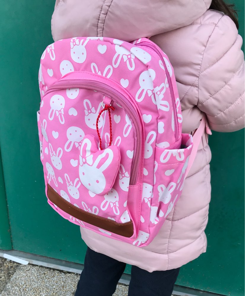 mochilas escolares infantis Anti-lost children's backpacks cute cartoon backpack kids school bags girls bag 1 ~ 6 years old photo review