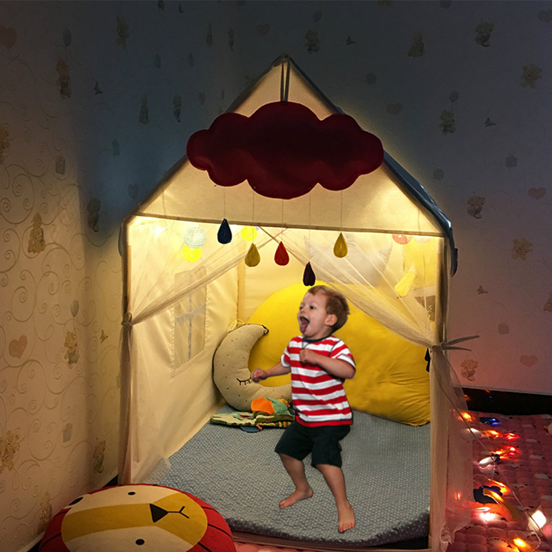 Portable Children's Tent Toy Ball Pool Play House Kids Small light House Folding Play tent Baby Beach tent DE0023