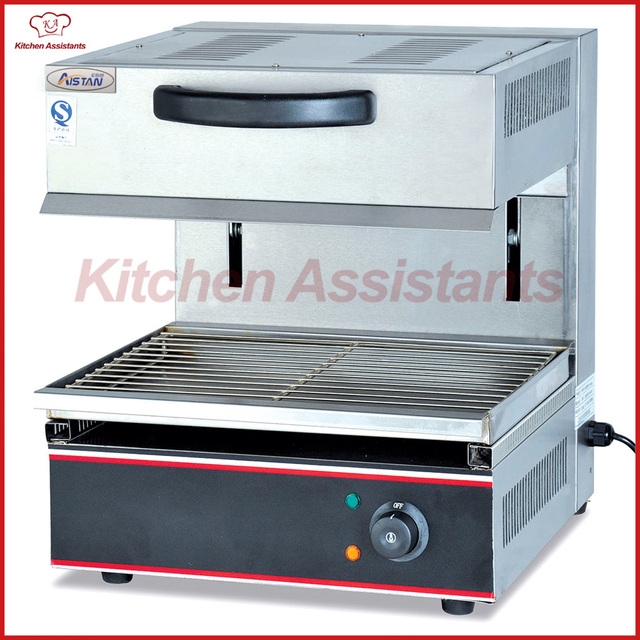EB450 table top electric lift salamander grill oven machine