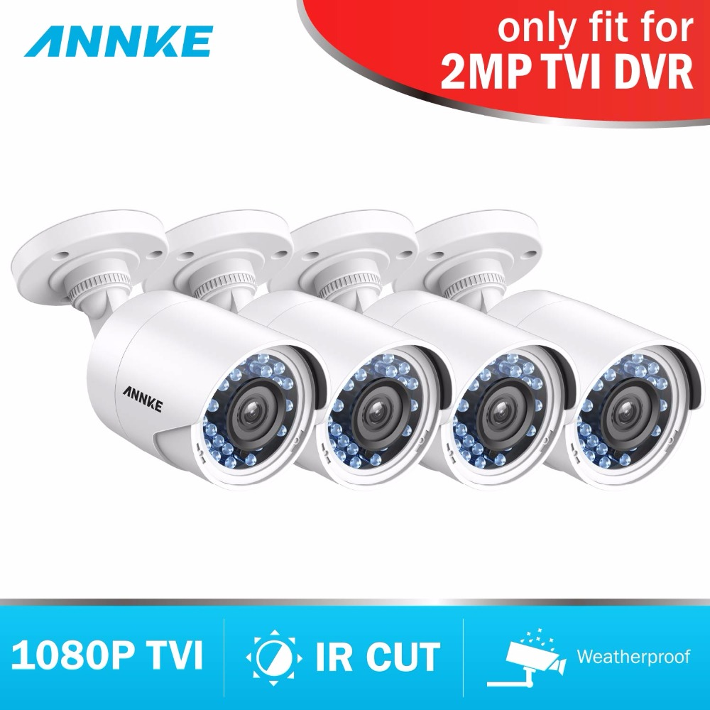 SANNCE WiFi IP Camera TVI 1080P Bullet Cam 3.6mm IR-cut IP66 PAL/NTSC Weatherproof Home CCTV Security Video Surveillance Camera sucam 1 0mp home ahd security camera 720p 20 meters ir nano led light infrared ir surveillance camera pal ntsc easy installtion
