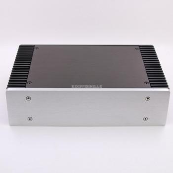 BZ2607A Full Aluminum Amp Enclosure / Mini Amplifier Chassis PSU DIY Case silver