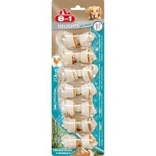 8in1 DENTAL DELIGHTS XS косточки с куриным мясом для мелких собак с минералами (7,5 см)