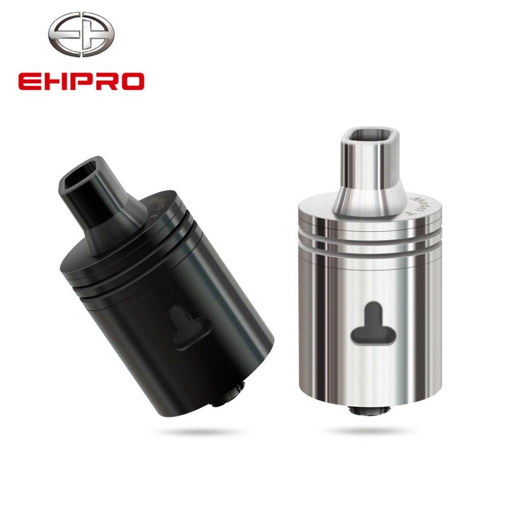 Original Ehpro Model T 22mm RDA 510 Thread Atomizer Dual Coils Electronic Cigarette Tank Adjustable Airflow Vaporizer Vape Tank