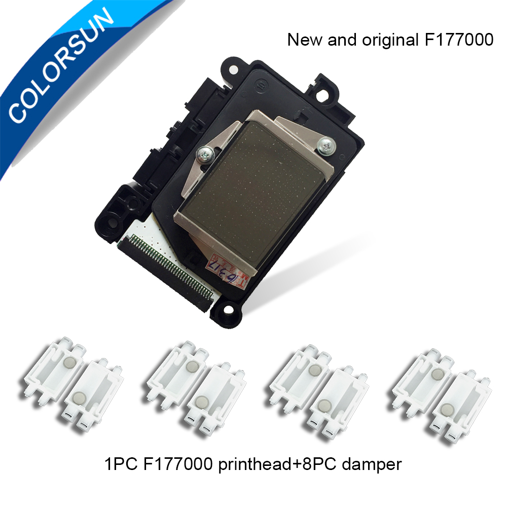 Colorsun New F177000 Printhead Water Based DX7 Print Head For Epson Stylus Pro 3800 3850 3885