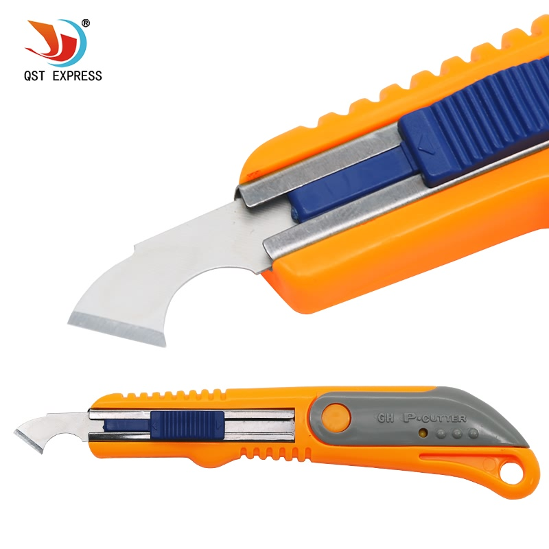 QSTEXPRESS Hook Knife Acrylic CD Cutting Tool Knife Plexiglass Cutter ABS Cutter Organic Board Tool