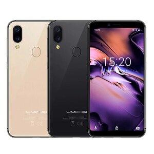 Image 5 - UMIDIGI A3 Smartphone Global double 4G Sim 5.5 pouces 18:9 plein écran téléphone Mobile Android 8.1 2 + 16G visage empreinte digitale téléphones portables