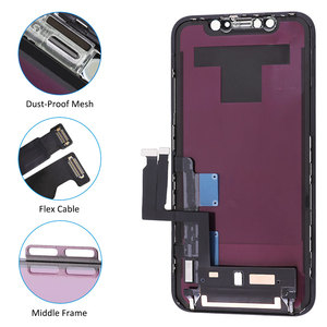 Image 3 - Elekworld Perfectly Quality TFT Full Front Assembly for iPhone XR LCD Display Touch Screen Digitizer Assembly Replacement Part